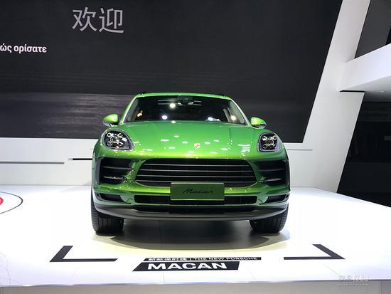 换装贯穿式尾灯 保时捷新款Macan首发