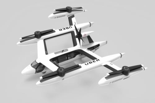 Uber计划在美国外选定第三座飞行汽车测试城市