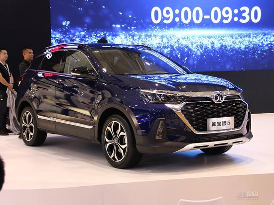 预售8.29万起 全新一代X55命名为绅宝智行