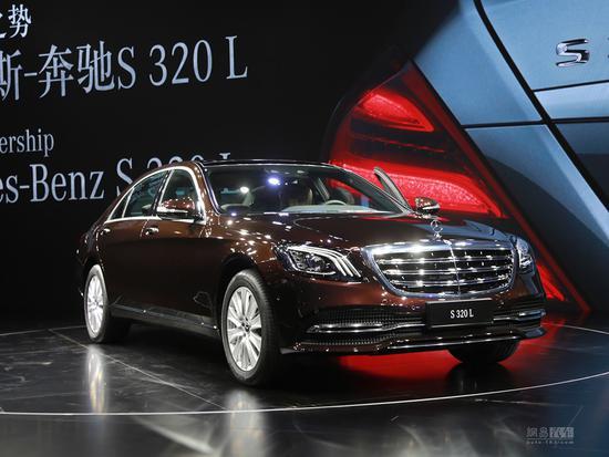 奔驰新款S级正式上市,售86.38-102.88万