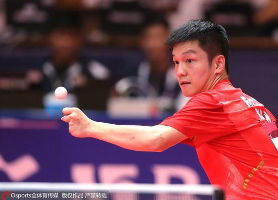 亚运乒球樊振东林高远团灭日本 携手进男单四强