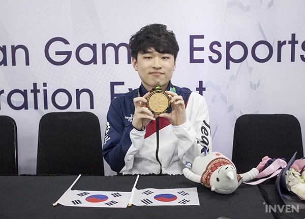 亚运会韩国选手Maru摘下星际争霸2金牌:赢得太轻松