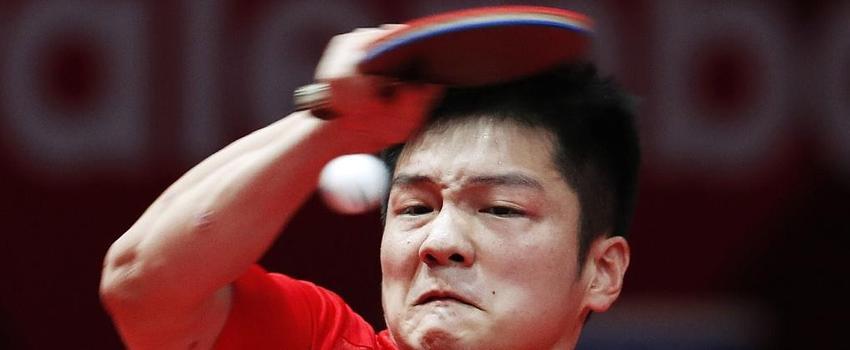 男单樊振东力克林高远夺冠 小胖挥拍露杀气