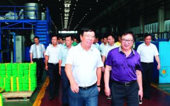 赵乐秦率自治区人大常委会调研组在桂林开展调研