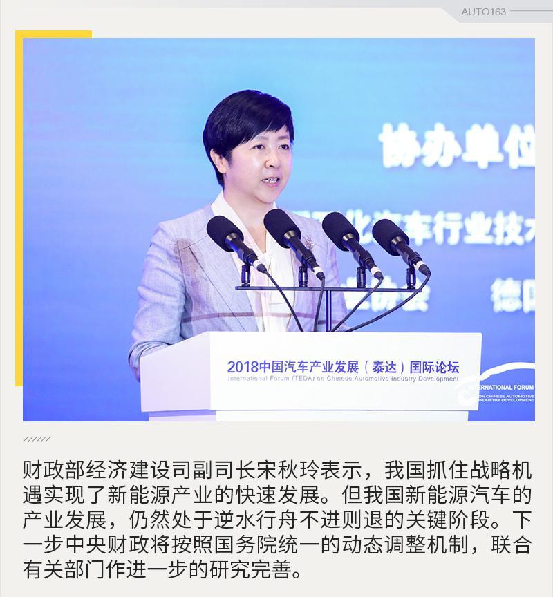 宋秋玲:扶优扶强 新能源补贴将建立动态调整机制