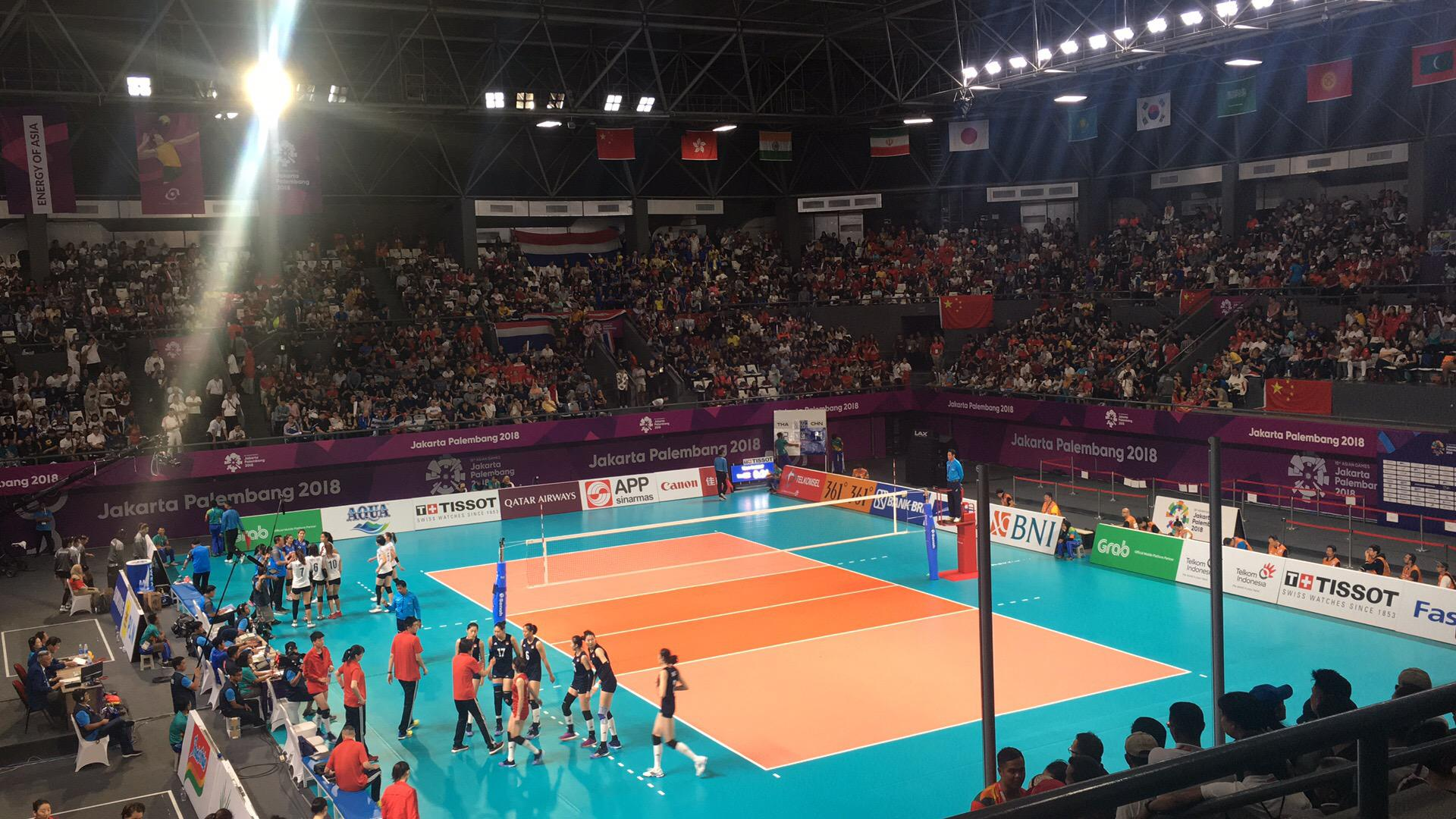 朱婷26分中国女排3-0泰国 重登亚洲之巅第8次夺冠