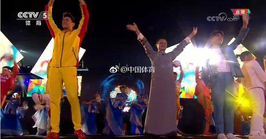 亚运杭州9分钟美轮美奂 马云易烊千玺登台发邀请