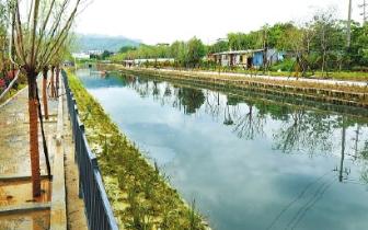 14条内河施工基本完成 先来看看3条内河新颜