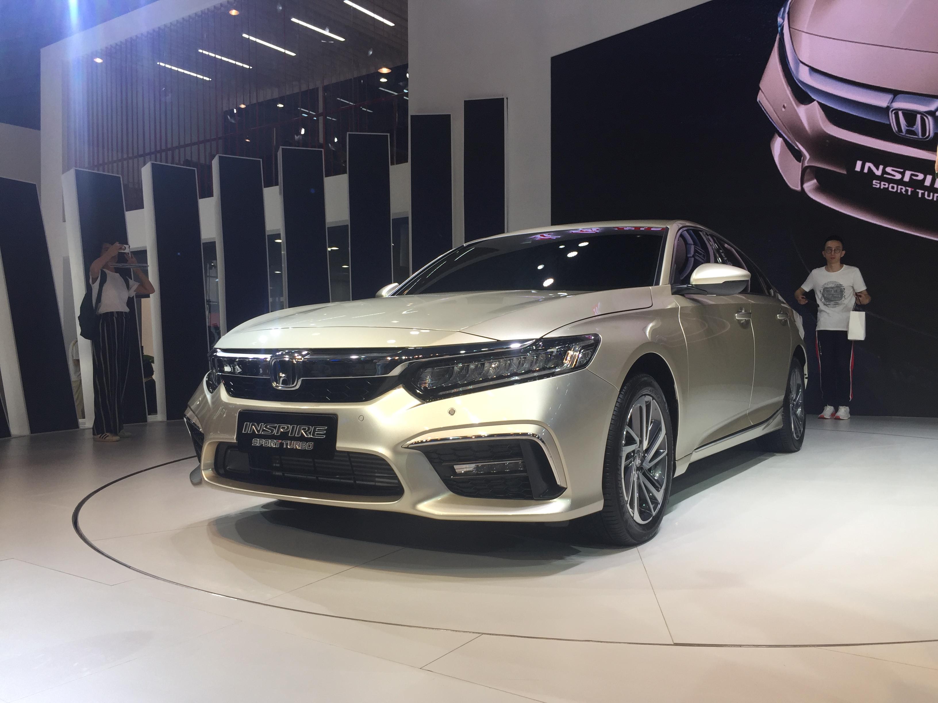 全新中型车 东风本田INSPIRE十月底上市