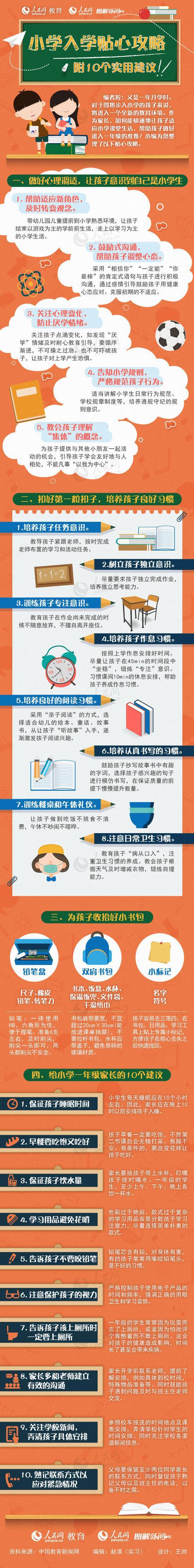 小学入学贴心攻略 对孩子最有用的10个实用建议