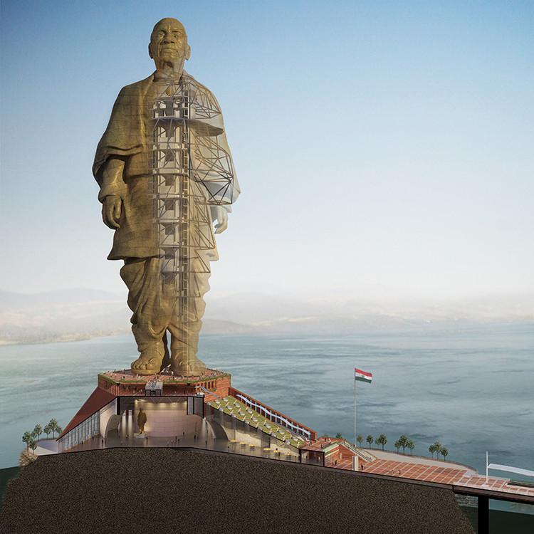 """印""""世界最高塑像""""将完工 比自由女神像高一倍多"""