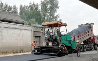 河南济源创新铺设绿色低碳环保公路