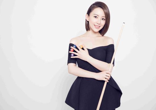 上海世界九球公开赛开杆 九球天后潘晓婷轻松备战