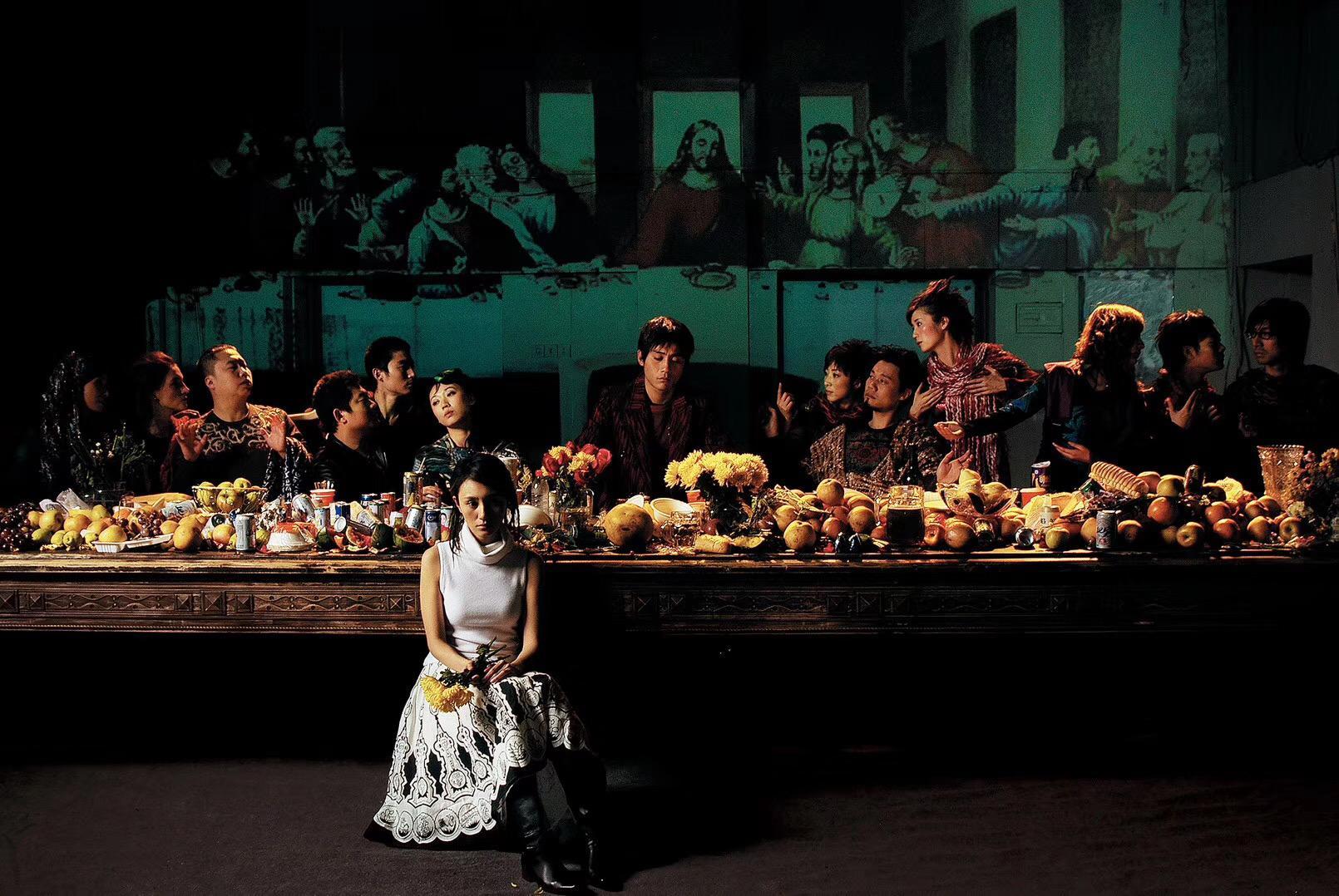 与孟京辉合作近20年,聂竞竹把海报做成当代艺术搬进了恭王府