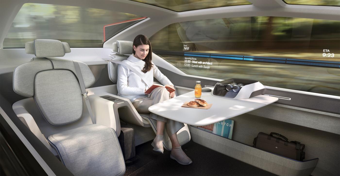 带机翼/自动驾驶 沃尔沃发布360c概念车