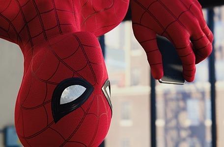 队长有话说:这届蜘蛛侠的手机是什么牌子的?
