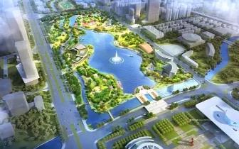 龙津湖公园蓄水完成三分之一,预计国庆对外开放