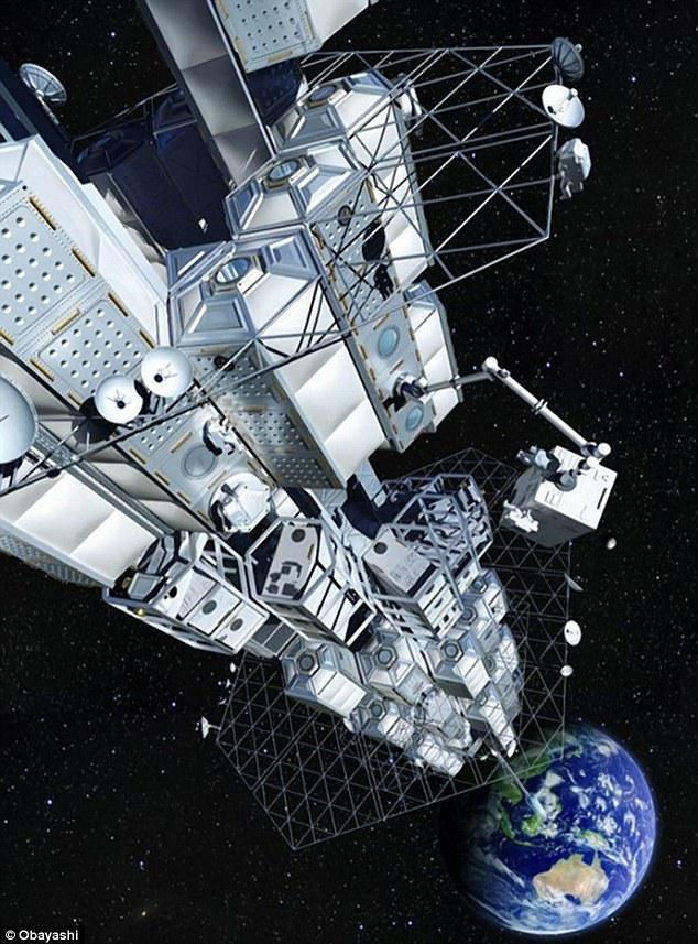 日本设计太空电梯,未来坐电梯就能去太空旅游?