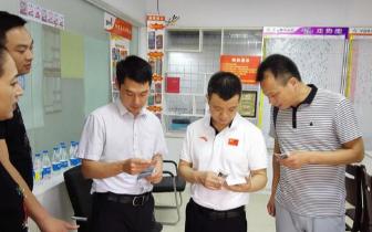 河南省体育局副局长黄家明一行莅临商丘 检查指导工作
