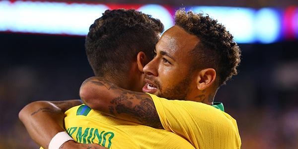 菲尔米诺破门内马尔点射 巴西2-0胜美国