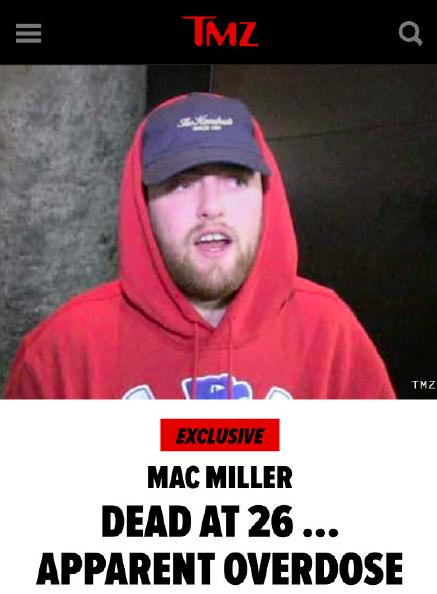 Mac  Miller 去世