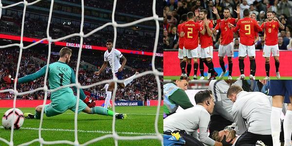 拉什福德破门卢克肖伤退 英格兰1-2遭逆转