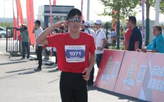 省运会十公里越野跑 千名跑友唱响全民健身