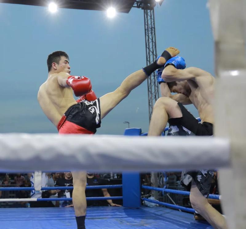 中国功夫战队莫斯科4-1胜俄罗斯 丁猛打服对手