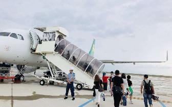 春秋航空恢复重庆至大阪航线 178名滞留旅客顺利返渝