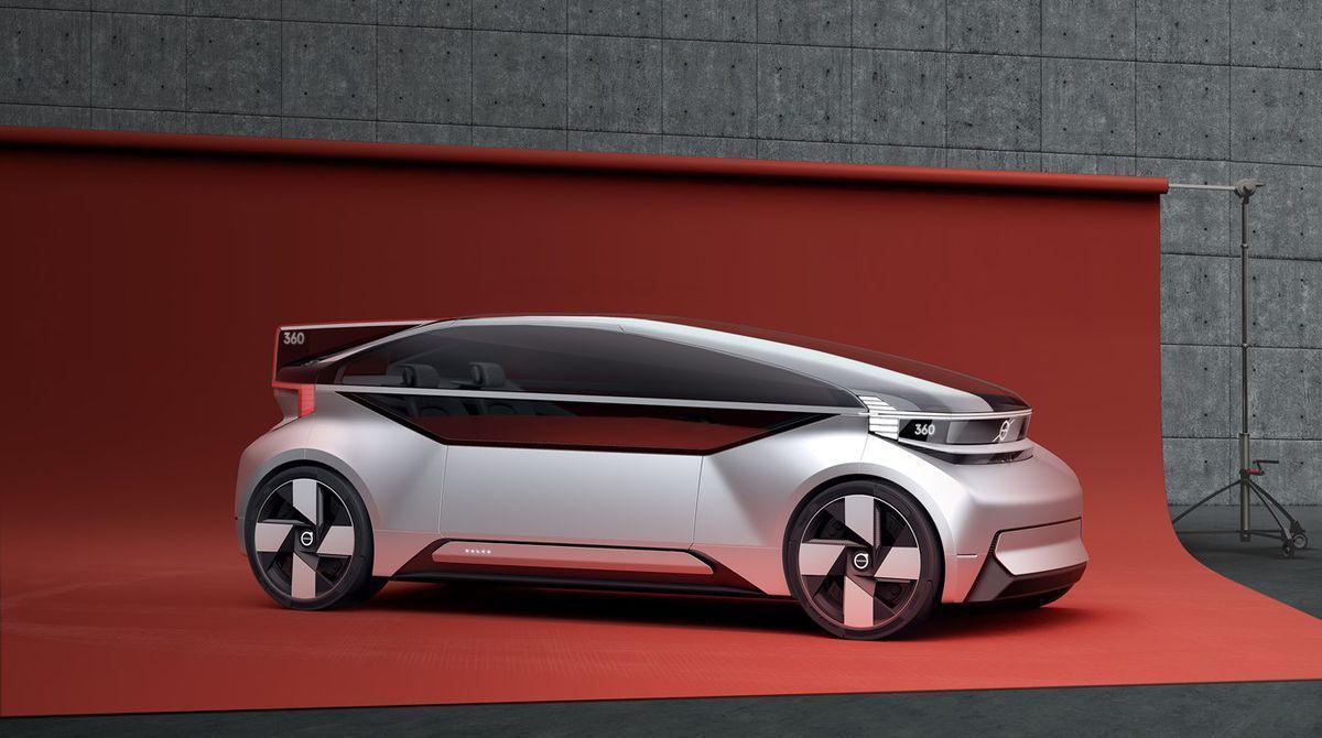 """坐""""宇宙飞船""""去上班?沃尔沃眼中的未来汽车长这样"""