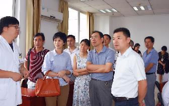 吉安新干县中医院到江西省中西医结合医院参观学习