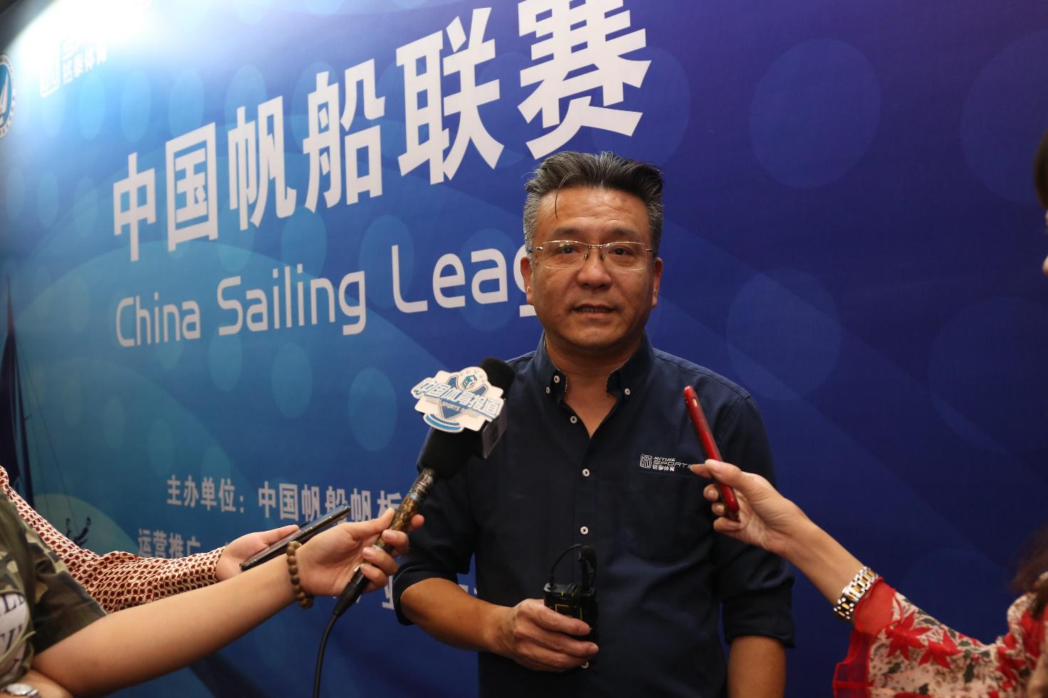 北京铭泰体育产业投资有限公司总经理 叶剑华