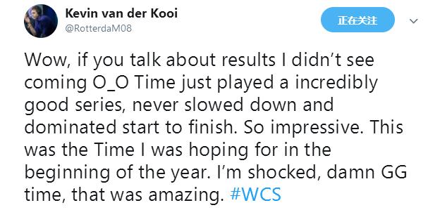 最后的人族!中国星际争霸2选手TIME获世界大赛佳绩