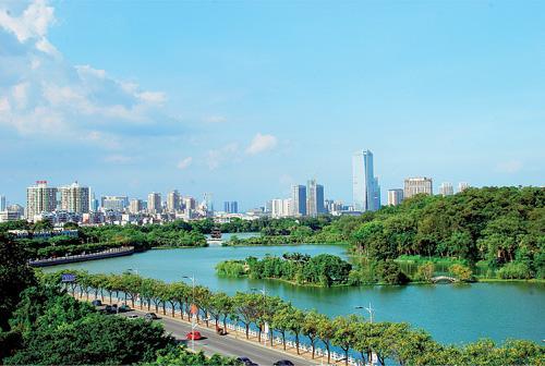 惠州打造国际绿色宜居城市