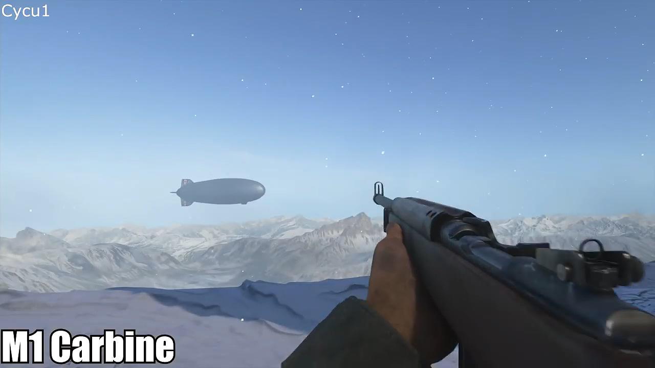 《战地V》与COD二战武器对比 一起来看看哪家更还原!