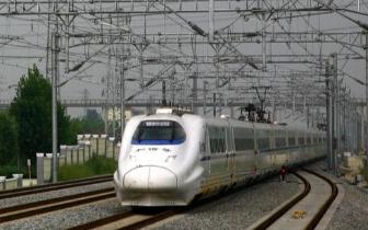 南龙铁路10日送电 接触网电压高达2.75万伏