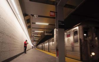 """纽约世贸科特兰地铁站重开 曾在""""911""""中被毁"""