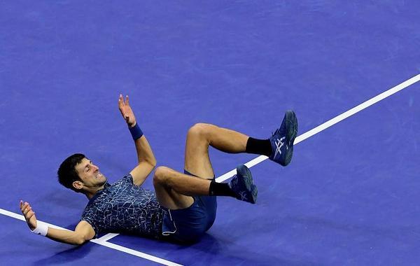 霸气德约到底庆祝美网第三冠