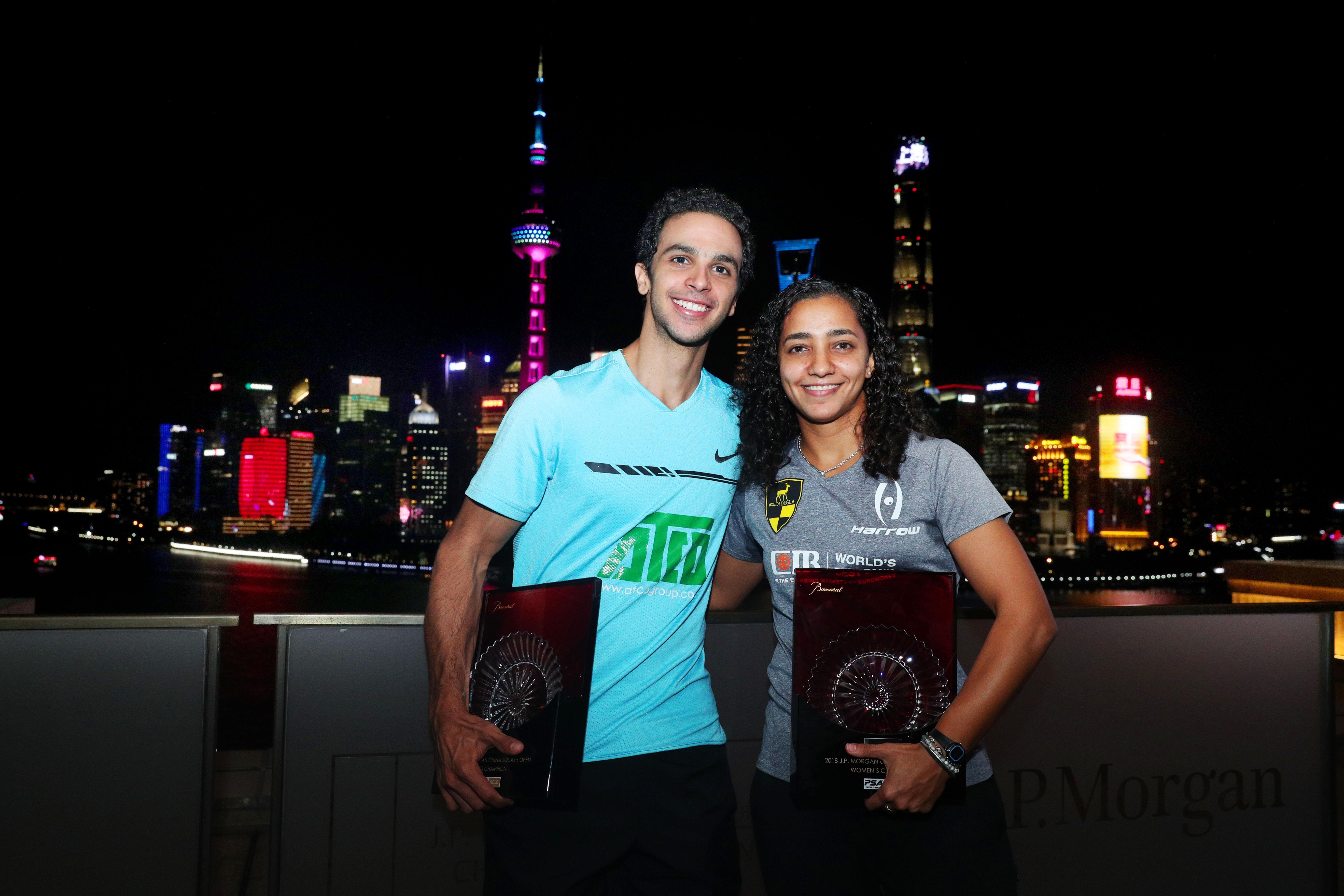 中国壁球公开赛收官  埃及选手包揽男女组冠军