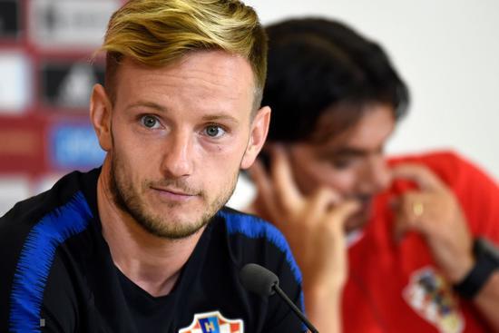 拉基蒂奇在国家队的赛前新闻发布会上