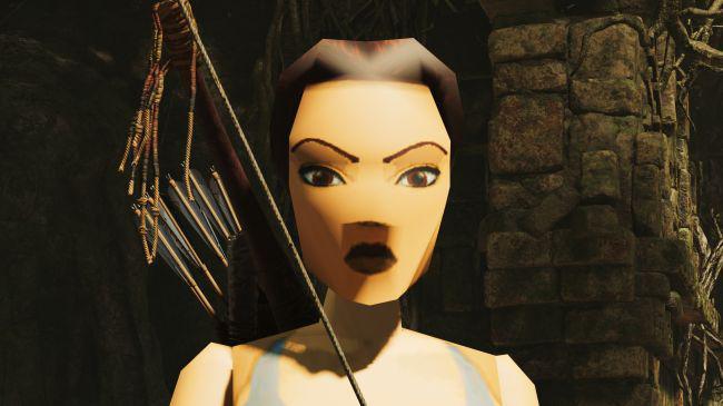 性感劳拉在线换装 《古墓丽影:暗影》可替换初代经典造型