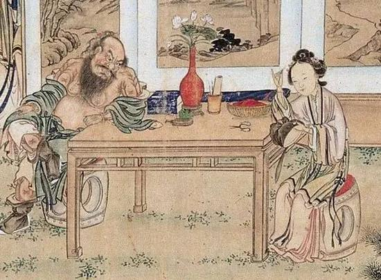 """又""""娘""""且""""闲""""的古代男人不仅插花还爱头上戴花"""