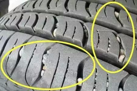 轮胎上的石子会有什么影响?要不要抠?