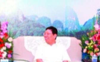 赵乐秦会见桂林市投资企业代表 全都是大咖级人物