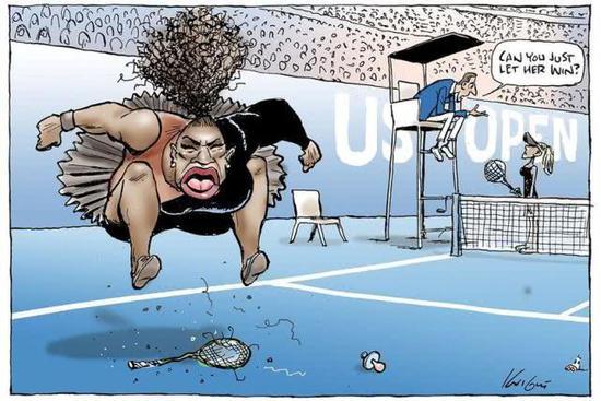 澳媒头版漫画讽小威引争议 哈利波特之母发声批评