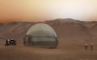 揭秘火星冰屋:登上火星的人类或将住在这里