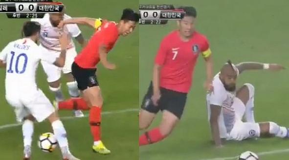 4秒内 智利2将被亚洲天王玩晕了!遭胯下之辱+穿裆