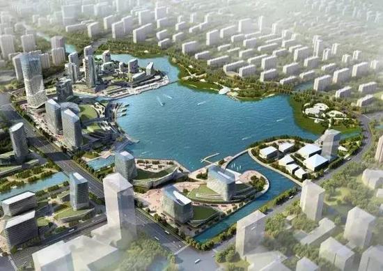 城市向湖而兴 | 东部新城或将再次迎来价值红利?