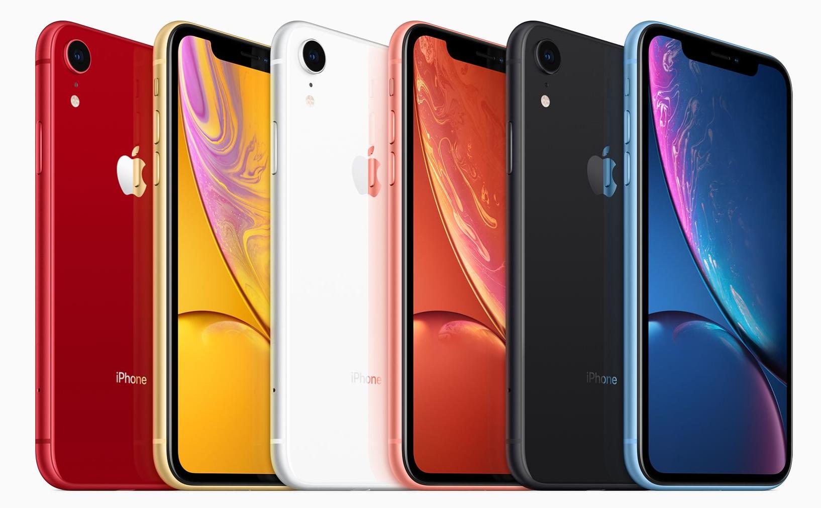 生来多彩  iPhone XR亮相苹果发布会