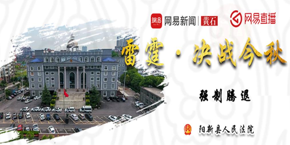 雷霆·决战今秋 阳新县人民法院攻坚行动